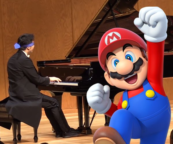 Mario Grand Piano Medley