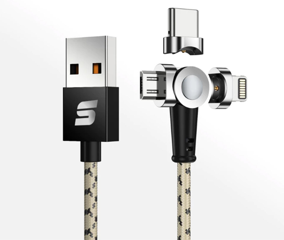 Swivel Charging Cable
