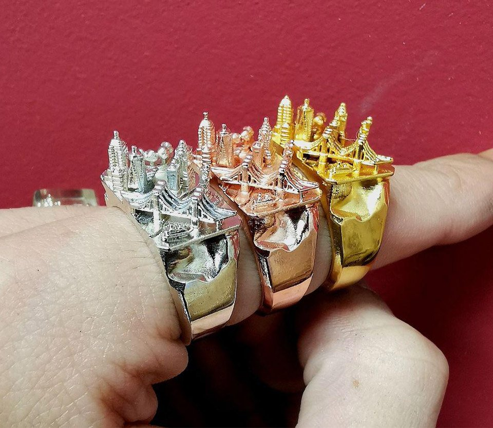 Teti Architecture City Rings