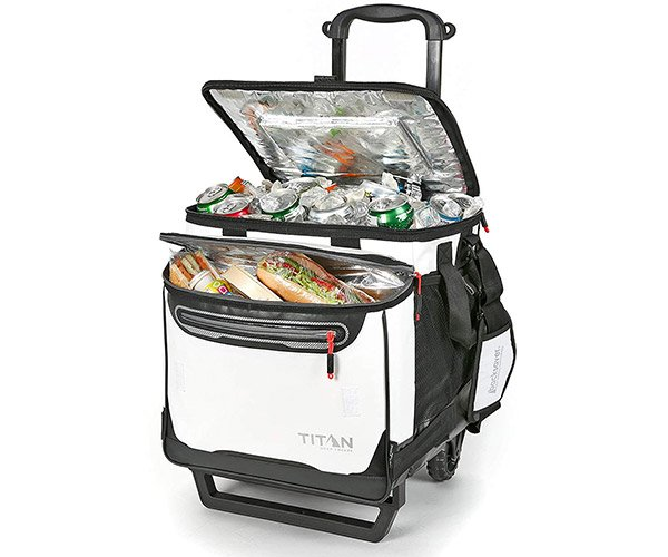 Titan Deep Freeze Rolling Cooler