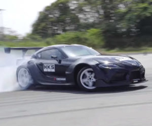 Toyota GR Supra Drift by HKS