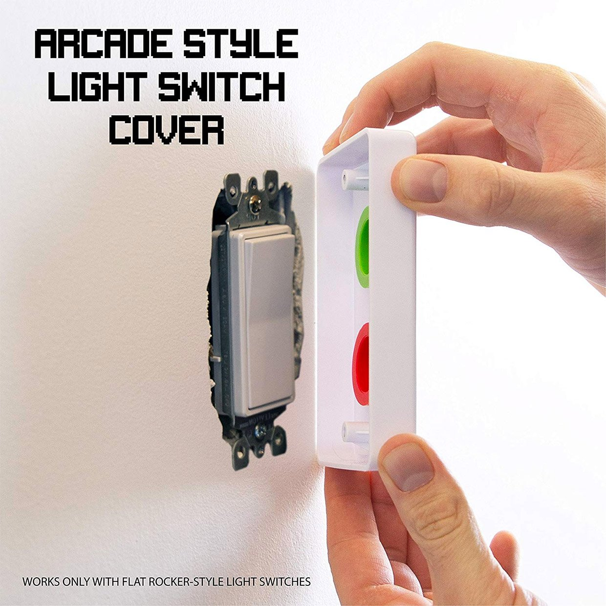 Arcade Light Switch Covers