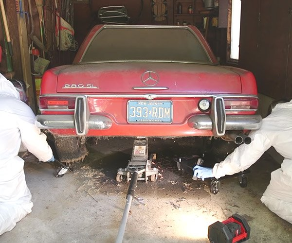 Detailing the Dirtiest Mercedes