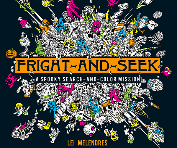 Fright-and-Seek Coloring Book