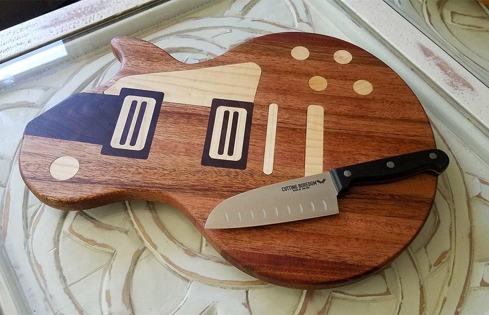Guitar Cutting Boards
