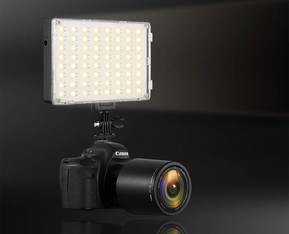 GVM RGB Camera Light