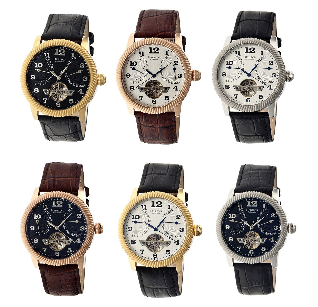 Heritor Piccard Automatic Watches
