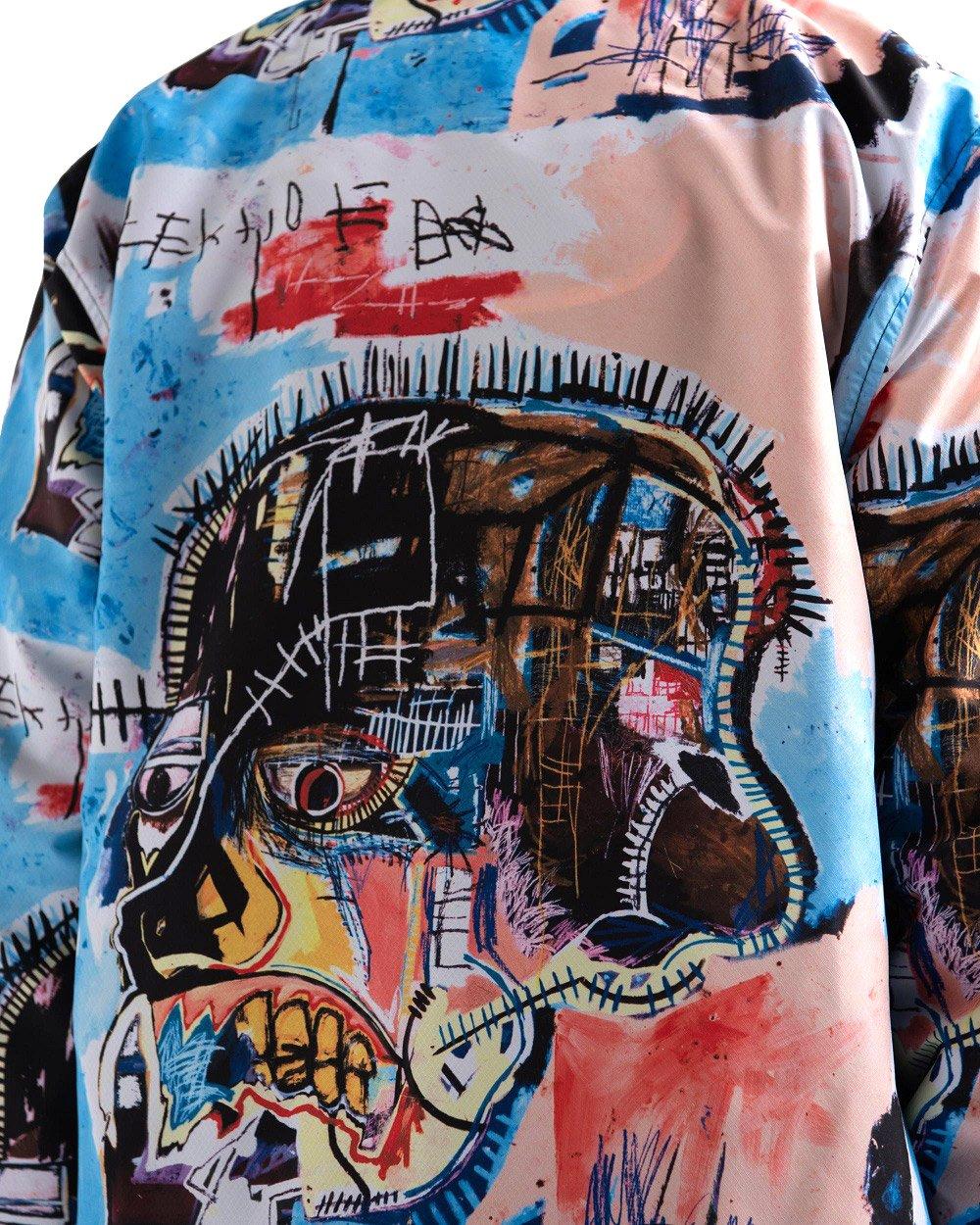 Basquiat Voyage Coach Jacket