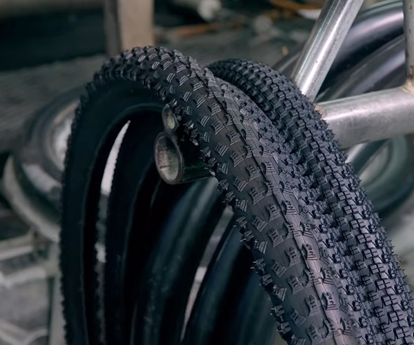How Mountain Bike Tires Are Made