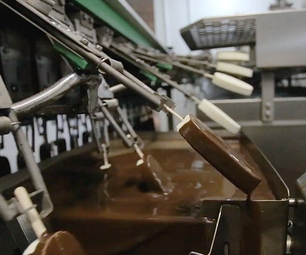 Inside an Ice Cream Factory