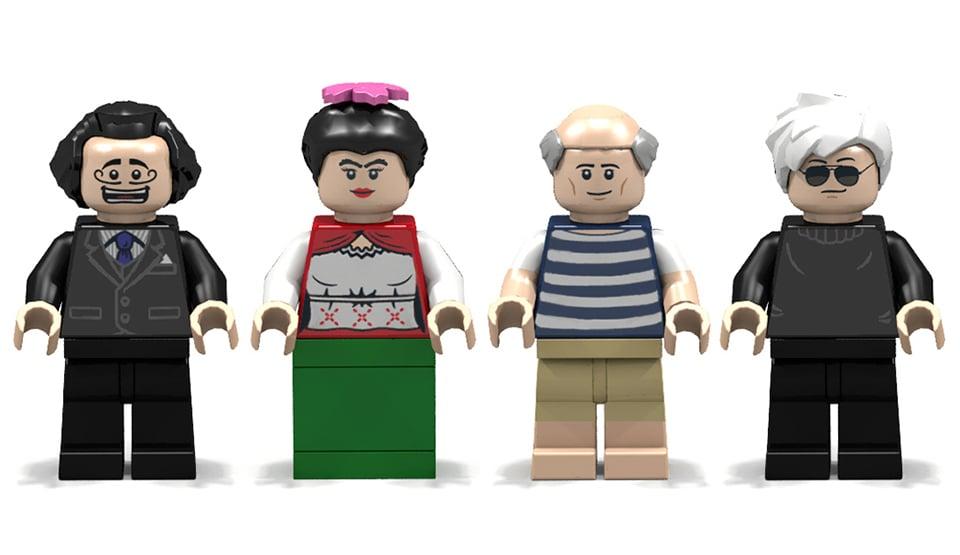 LEGO Ideas: 20th Century Artists