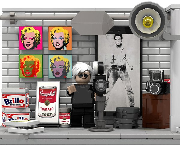 LEGO Ideas: 20th Century Artists