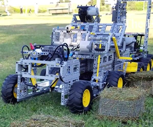 LEGO Hay Baler 2.0