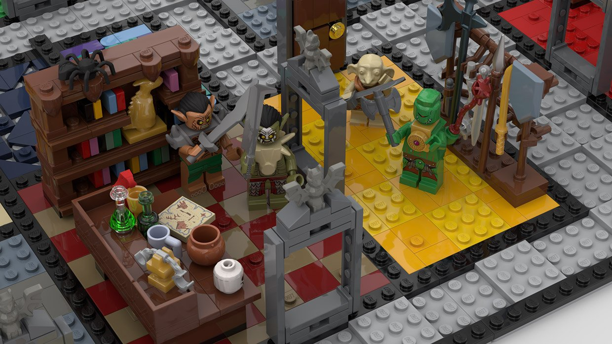 LEGO Ideas x HeroQuest