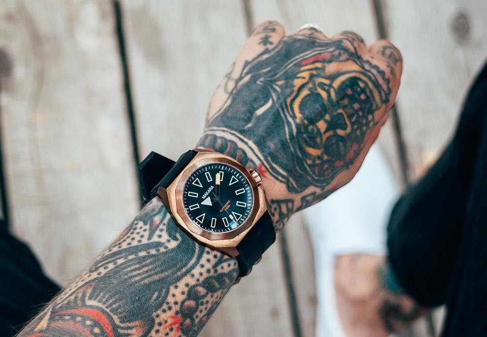 Makara Sea Serpent Watches