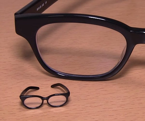 Making Tiny Eyeglasses