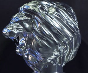Machining a Titanium Lion's Head