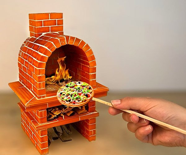 Making a Mini Pizza Oven