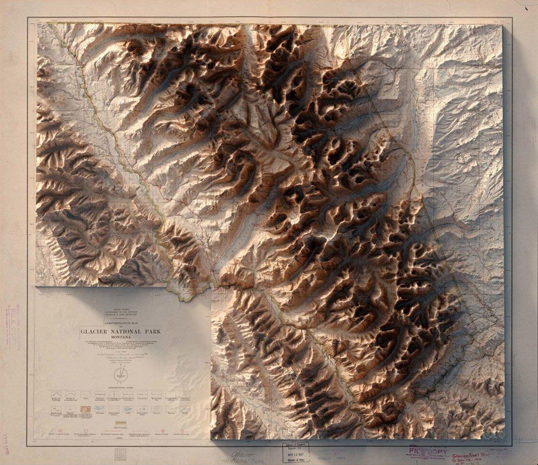 2D/3D Map Prints