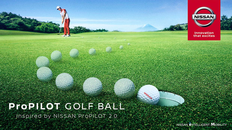 Nissan ProPILOT Golf Ball