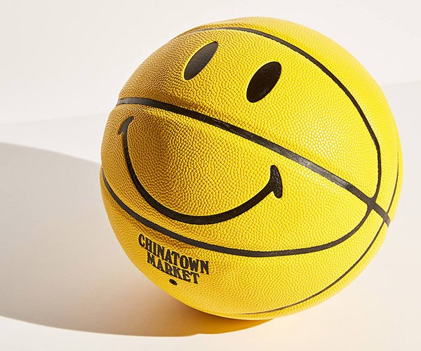 Smiley Face Basketball