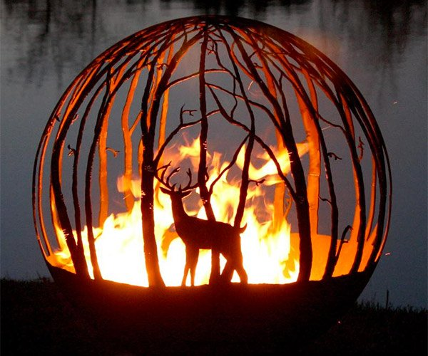Spherical Fire Pits
