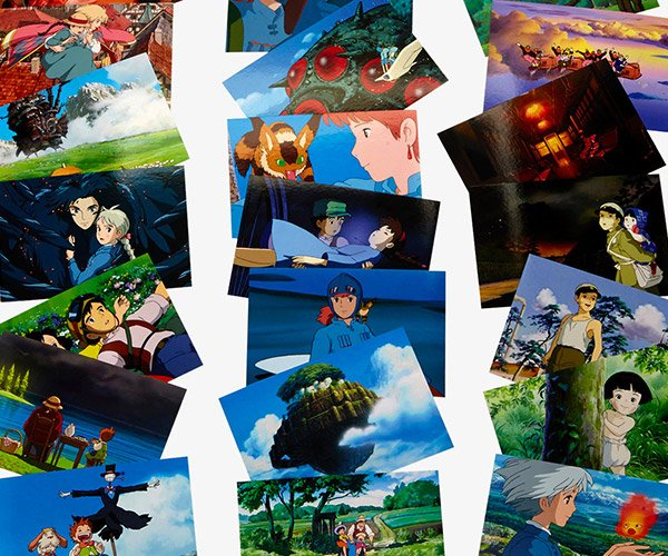 Studio Ghibli Collectible Postcards