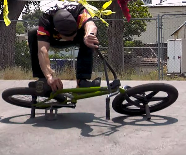 Crazy Freestyle BMX Stunts