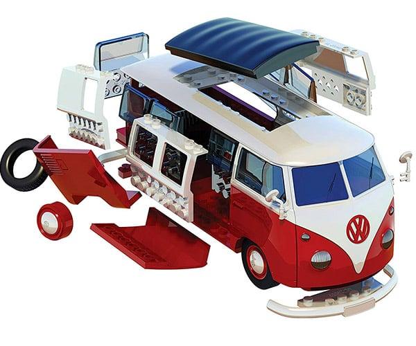 Airfix VW Camper Van Model