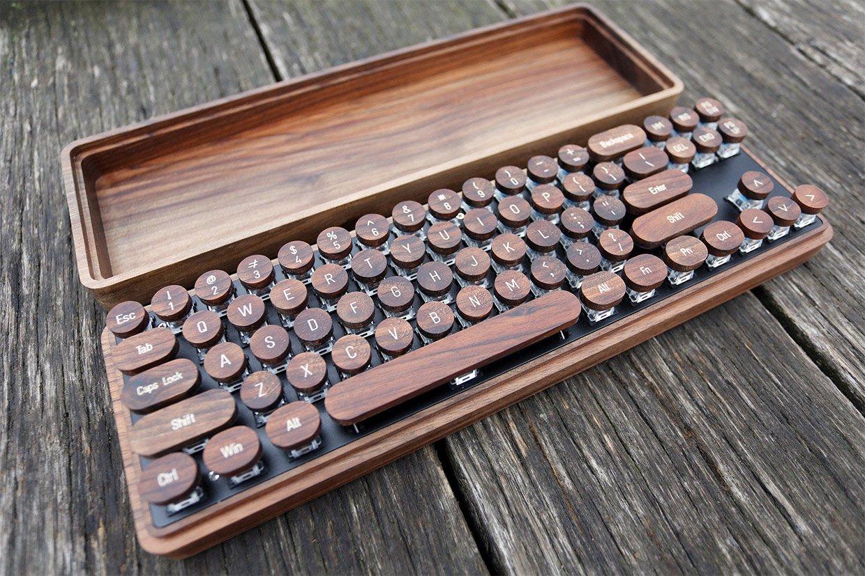 Crolander Wooden Keycaps