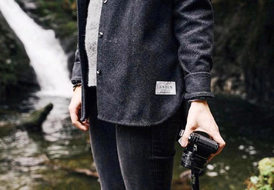 ANIÁN Modern Melton Shirt