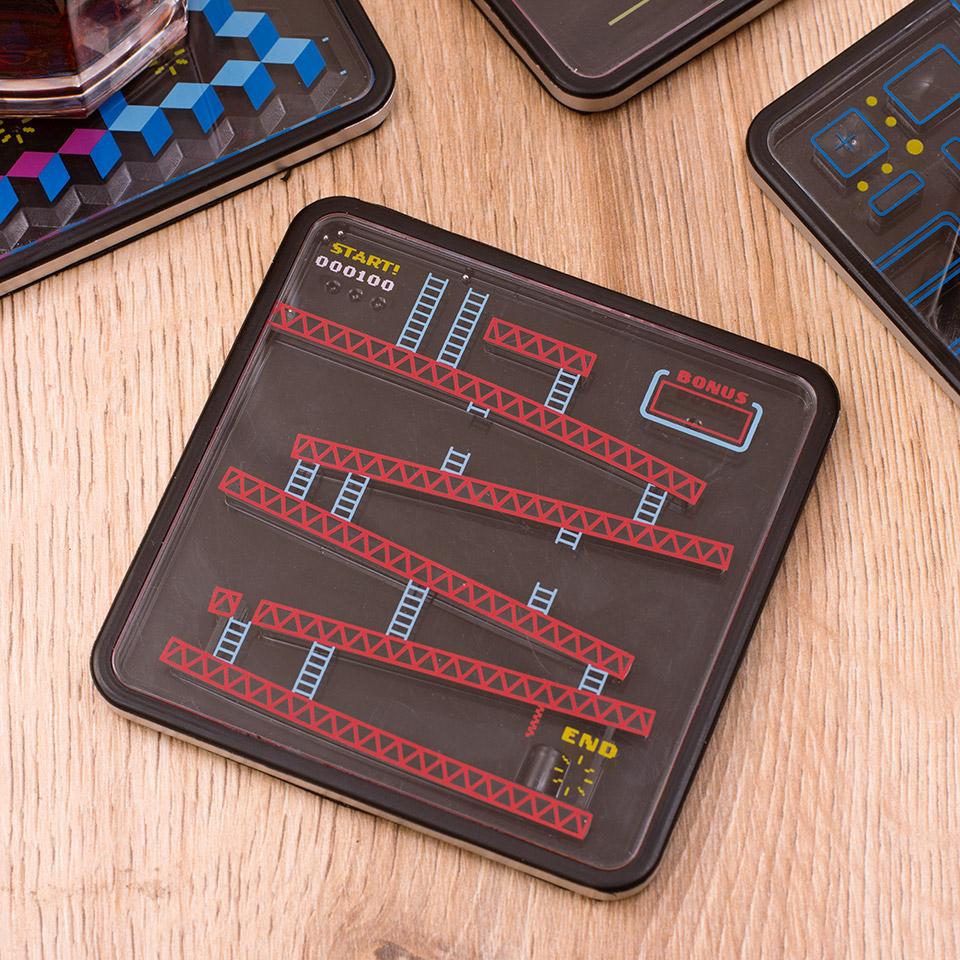 Arcade Puzzle Coasters