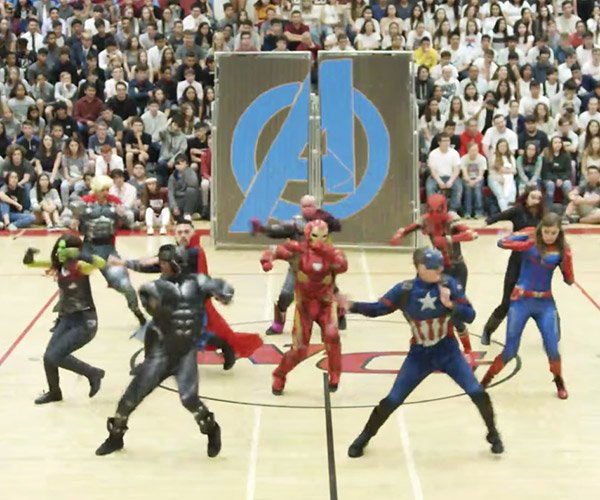 Avengers Assembly Dance