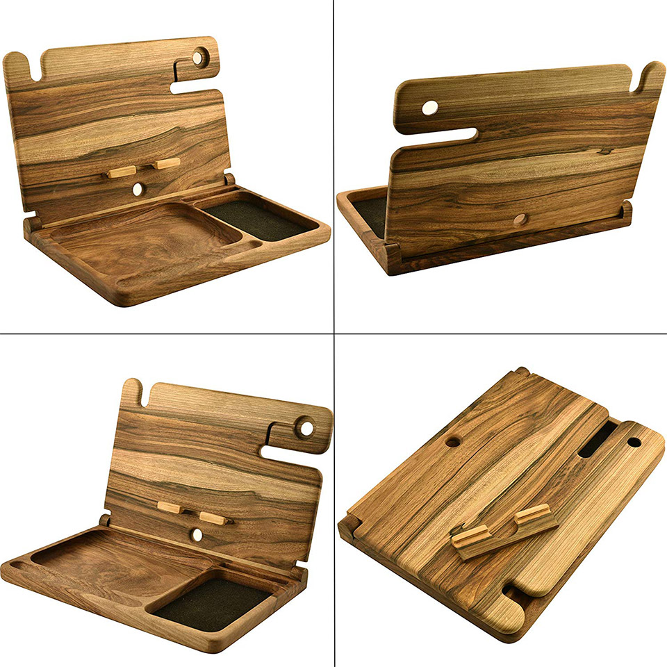 Barva Wood Bedside Stand