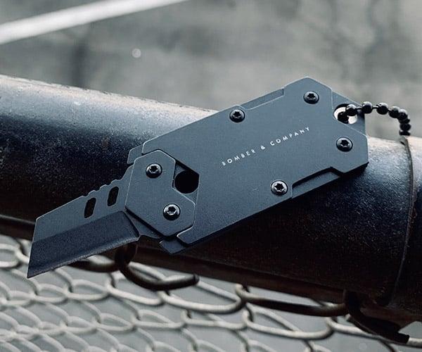 Bomber & Co B-2 Dog Tag Knife