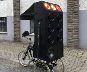 Boombox Tricycle