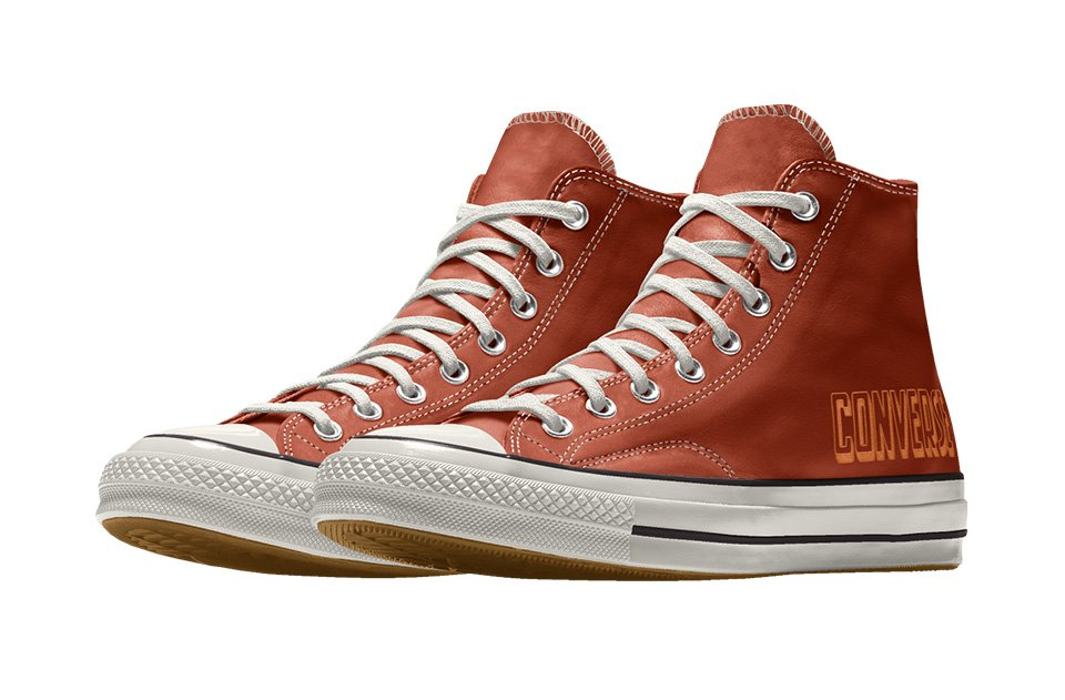 Chuck 70 Engraved Leather