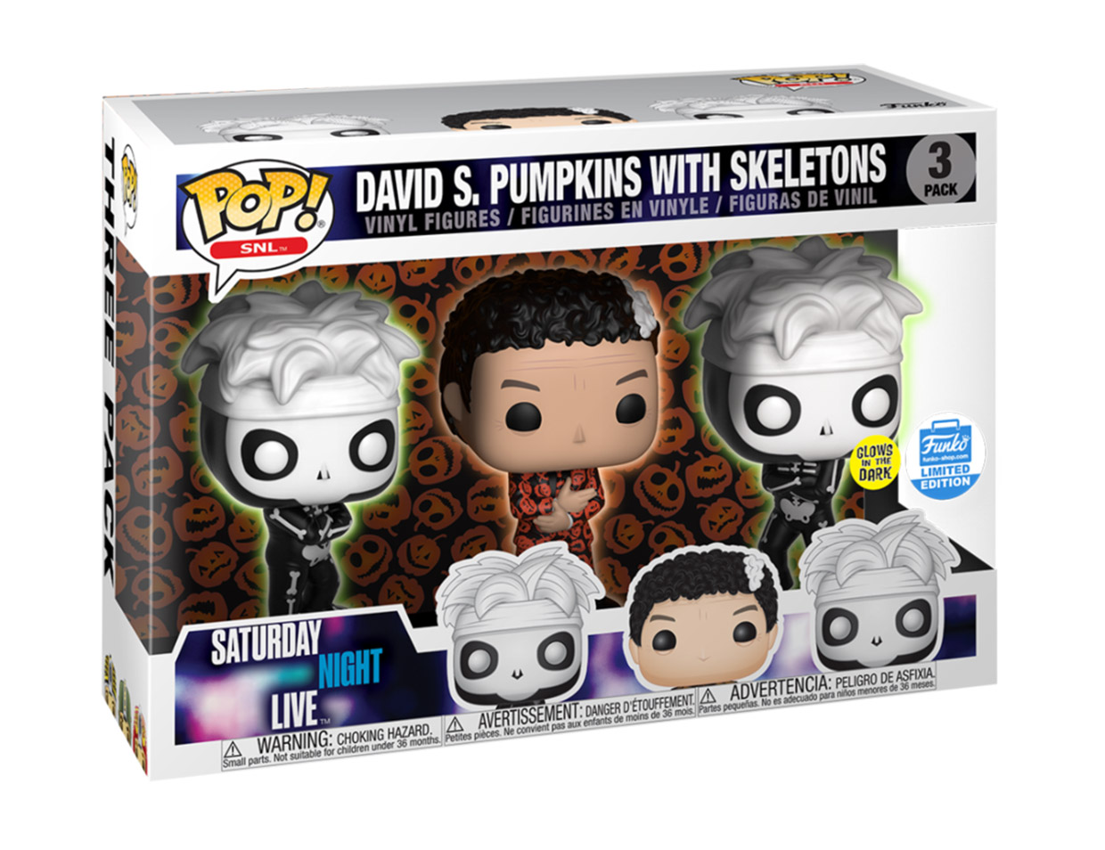 Funko POP! x David S. Pumpkins