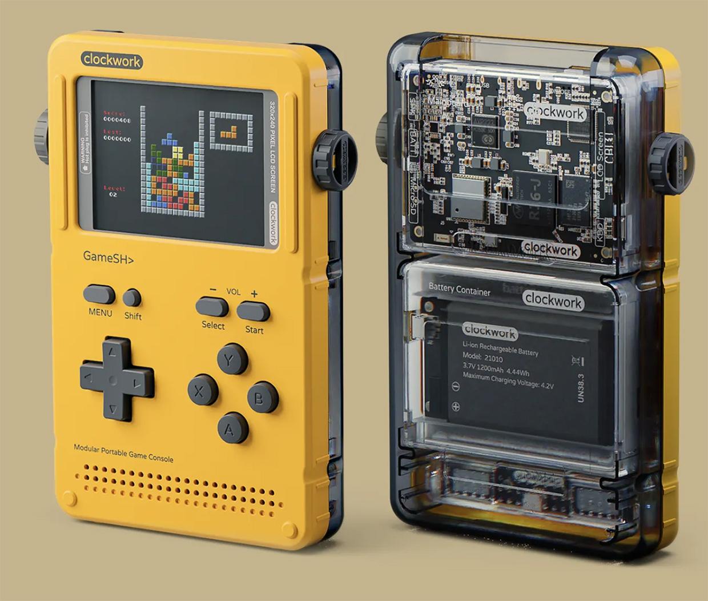 GameShell Hackable Handheld