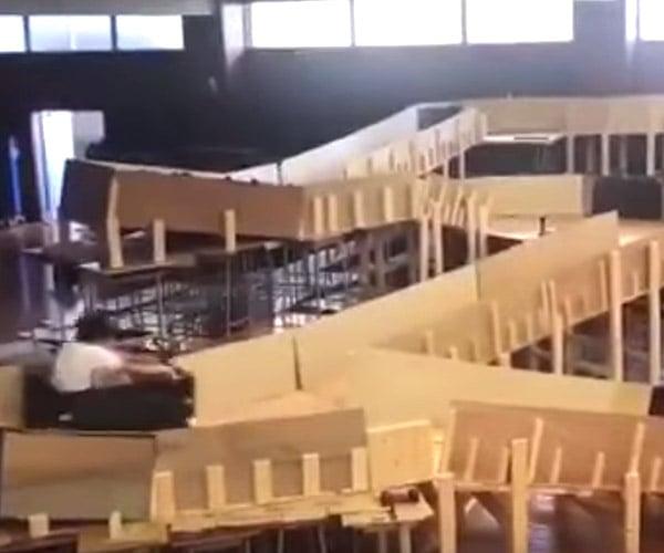 Gym Roller Coaster
