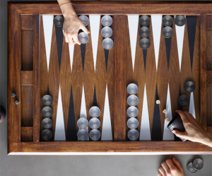 Giant Vintage Backgammon Set