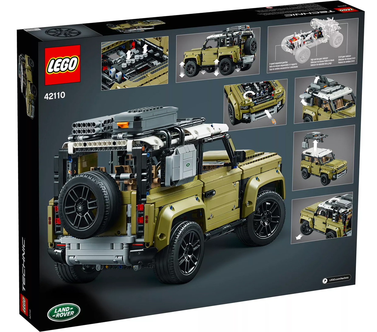 LEGO Technic Defender