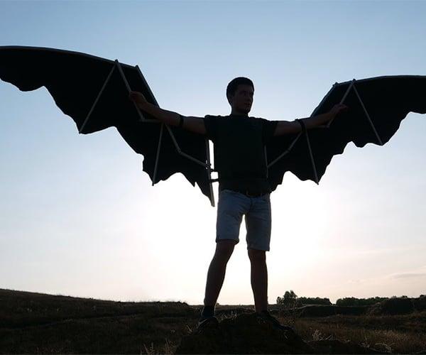 Making Batman Wings