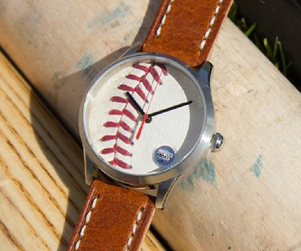 Tokens & Icons Baseball Watch