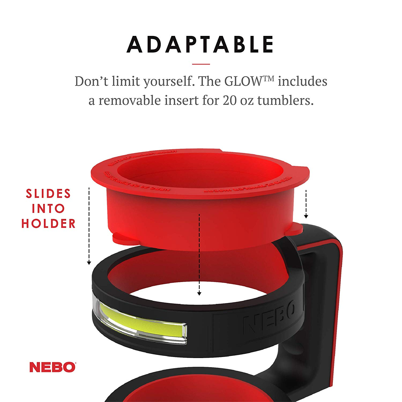 Nebo Glow Tumbler Holder
