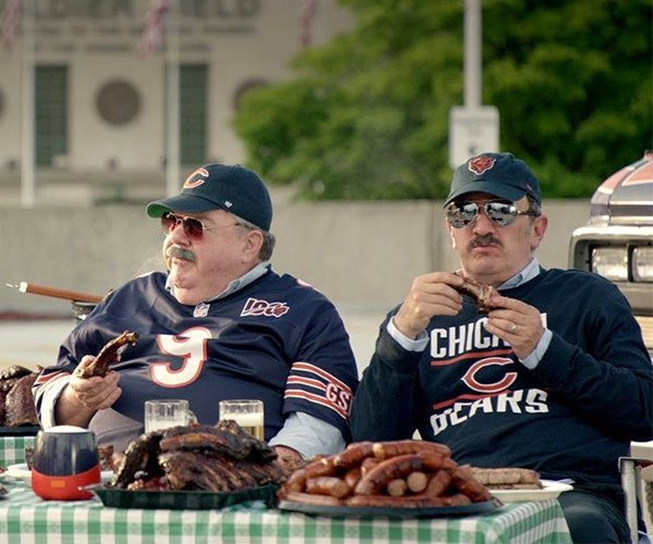 Da Bears vs. The Pack