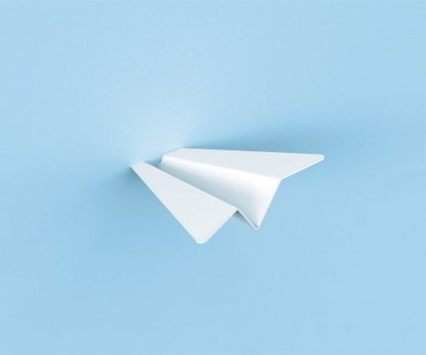 Paper Plane Wall Hangers
