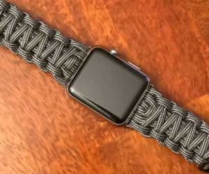 Paracord Apple Watch Bands