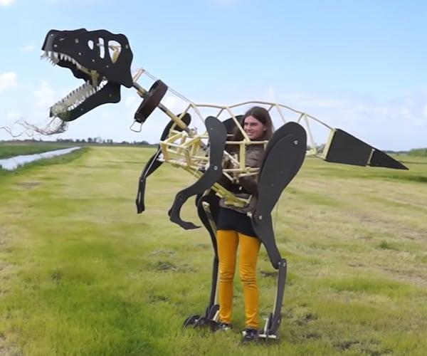 Mechanical Dinosaur Costume
