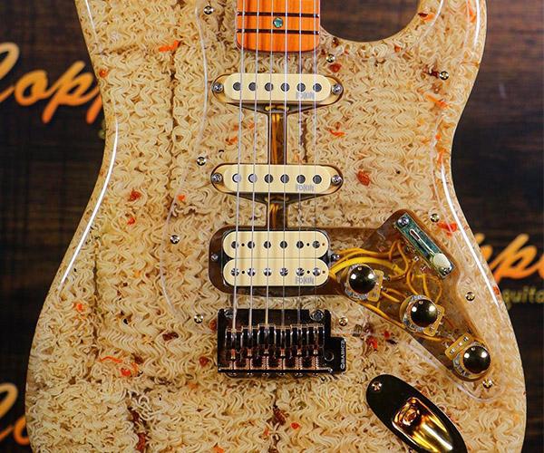 Ramen Noodle Guitar